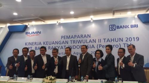 Pemaparan Laporan Keuangan BRI Kuartal II-2019
