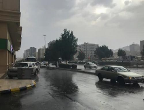 Hujan di Makkah