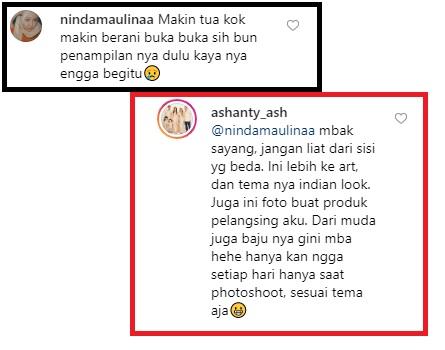 Ashanty akhirnya menjawab kritikan netizen terkait foto seksinya di Instagram. (Foto: Instagram/@ashanty_ash)
