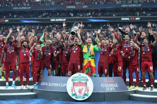 Liverpool berhasil menjuarai Piala Super Eropa 2019