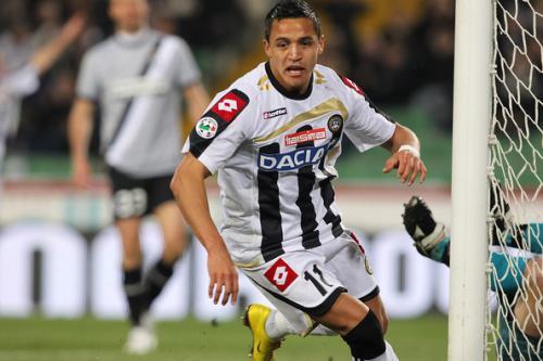 Alexis Sanchez saat berseragam Udinese