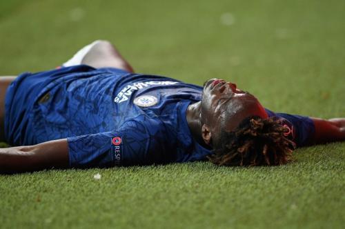 Abraham gagal mencetak gol di babak adu penalti Liverpool vs Chelsea