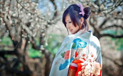 Perempuan Jepang cantik