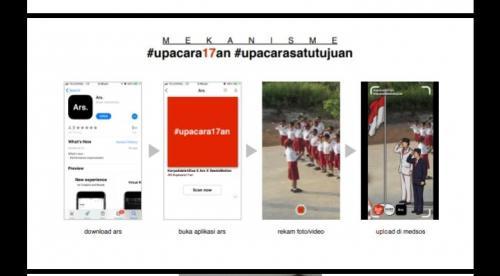 Aplikasi bernama Ars. bisa diunduh di Google Play, mengandalkan teknologi augmented reality (AR) untuk menampilkan sosok Soekarno dan Jokowi.