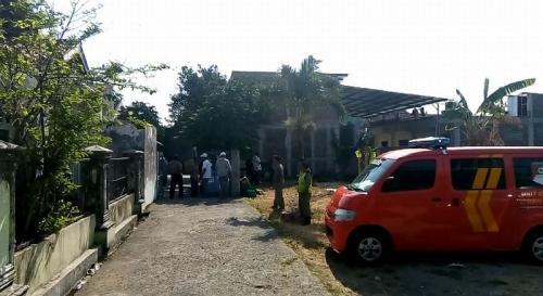 Lokasi Penangkapan Terduga Teroris Berinisial AR di Solo, Jateng (foto: Bramantyo/Okezone)