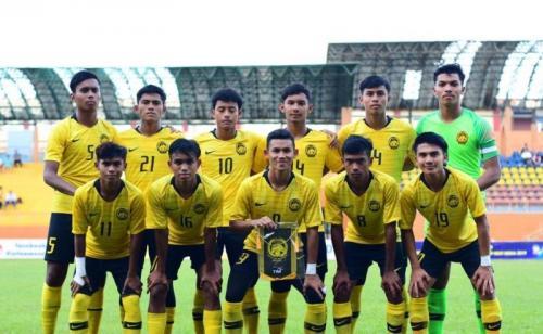 Personel Timnas Malaysia U-18 (Foto: FAM Malaysia/Twitter)