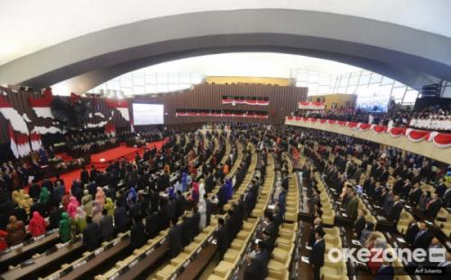 Sidang MPR/DPR RI. (Foto: Arif Julianto/Okezone)
