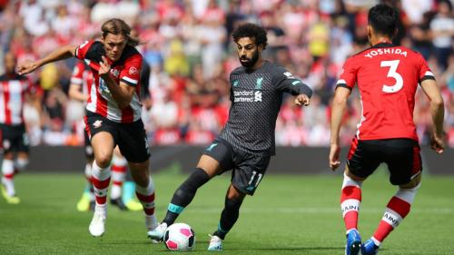 Mohamed Salah juga gagal membobol gawang Southampton (Foto: Premier League)