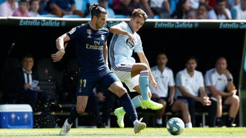 Suasana laga Celta Vigo vs Real Madrid
