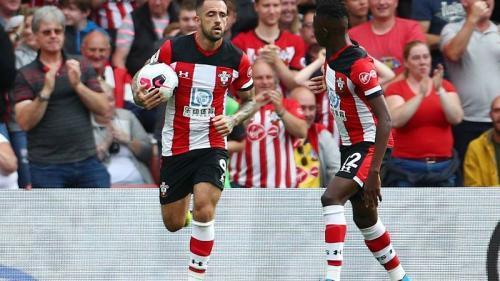 Danny Ings sempat memberi harapan untuk Southampton (Foto: Premier League)