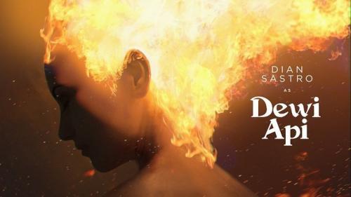 Dian Sastro sebagai Dewi Api, Foto: Bumilangit