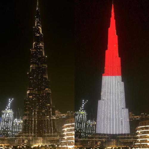 Burj Khalifa keren