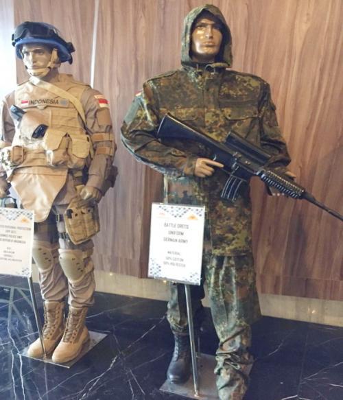 Seragam militer Indonesia yang mendunia