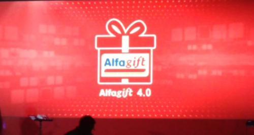 Alfamart hari ini, Senin (19/8/2019) resmi mengumumkan aplikasi Alfagift 4.0.