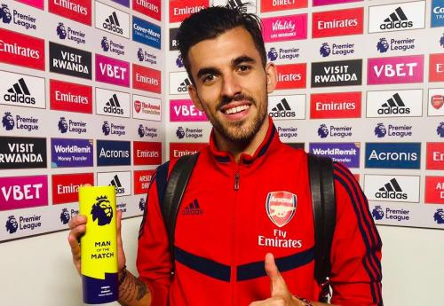Dani Ceballos menjadi man of the match saat Arsenal jumpa Burnley