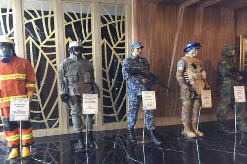 Seragam militer buatan Solo diimpor