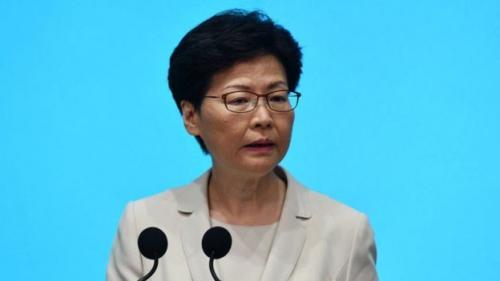 Carrie Lam dipilih sebagai pemimpin eksekutif atas persetujuan pemerintah pusat di Beijing. (Getty Images)