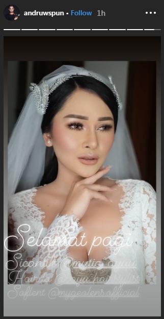 Siva Aprilia menyebut Mutia Ayu sosok yang tak hanya cantik namun juga baik. (Foto: Instagram/@andruwspun)