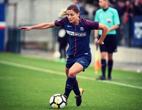 Mantan pemain PSG wanita, Laure Boulleau