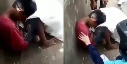 Bocah pemulung di Depok yang diisukan tewas kelaparan. (Foto: Ist/Instagram)