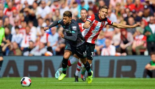 Chamberlain di laga kontra Southampton