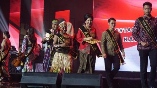 Naila Novaranti Jadi Salah Satu Penerima Ikon Pancasila oleh BPIP (foto: Bramantyo/Okezone)