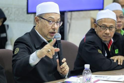 Ketua Rombongan Haji Malaysia 1440H Dato Sri Syed Saleh Syed Abdul Rahman. (Foto : Bahauddin/MCH 2019)