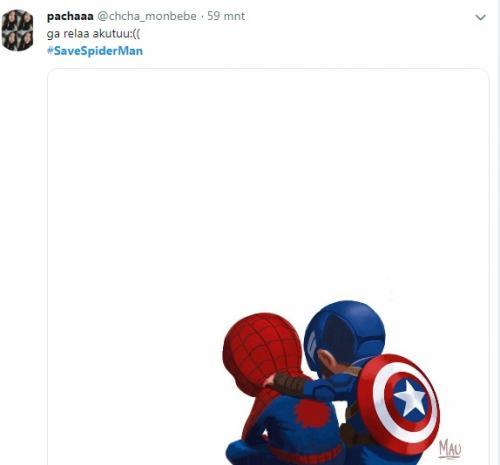 Spiderman Pisah dengan MCU Warganet Kecewa di Twitter