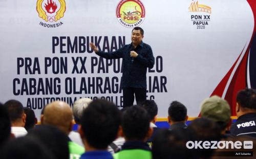 Pembukaan Pra PON XX Papua 2020 cabor biliar