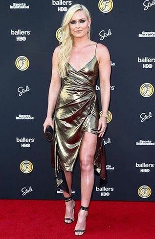 Lindsey Vonn jadi salah satu atlet perempuan tercantik