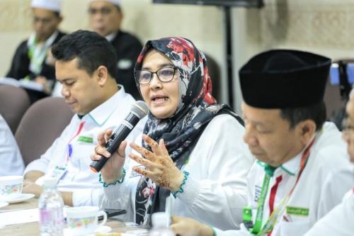 Direktur Pelayanan Haji Luar Negeri Kementerian Agama Sri Ilham Lubis. (Foto : Bahauddin/MCH 2019)