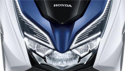 Bagian depan Honda Forza 300 Cc