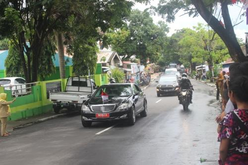 Mobil dinas Presiden Jokowi