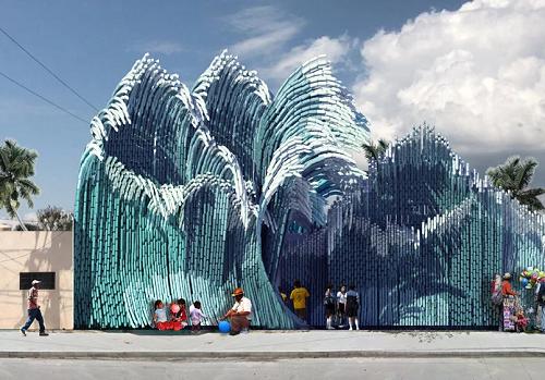 Botol Plastik Jadi Bangunan Sekolah