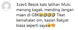 Komentar netizen soal mahalnya harga tiket Indonesia vs Malaysia