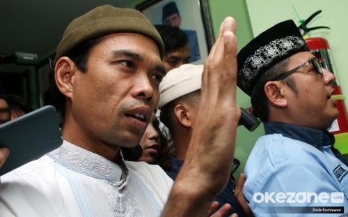 Ustadz Abdul Somad. (Foto: Dede Kurniawan/Okezone)