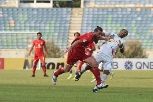 Steven Paulle sempat jadi andalan di lini belakang sebelum cedera (Foto: Persija Jakarta)