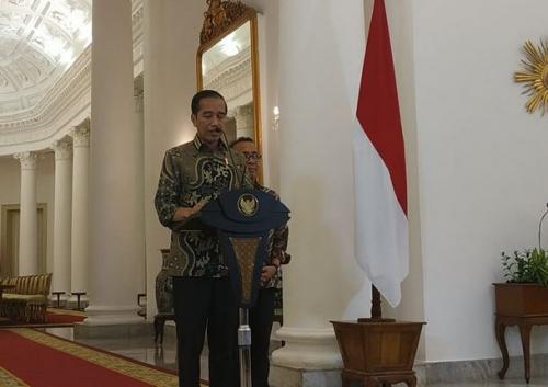 Presiden Jokowi di Istana Bogor. (Foto: Dok Okezone.com/Fakhrizal Fakhri)