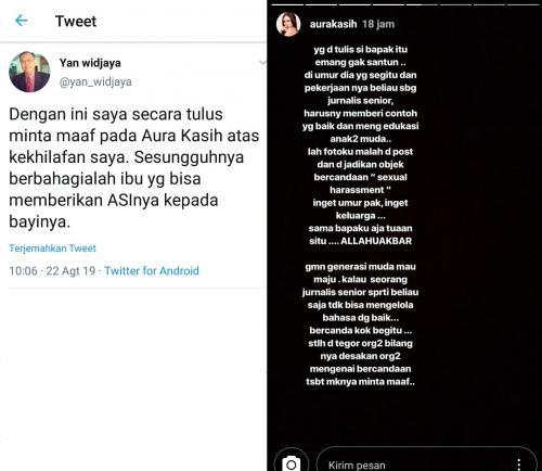 Aura Kasih vs Yan Widjaya