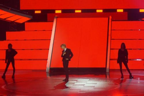 Taemin di panggung RCTI