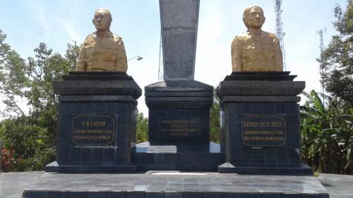 Monumen 14 Februari (Foto: Okezone.com/Subhan Sabu)