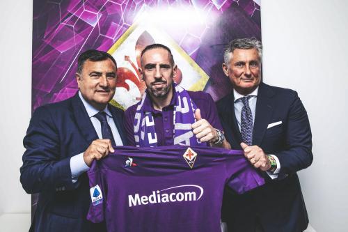 Franck Ribery bergabung dengan Fiorentina
