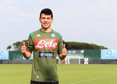 Hirving Lozano telah resmi berlabuh ke Napoli