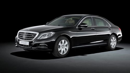 Mercedes Benz S-600 Guard