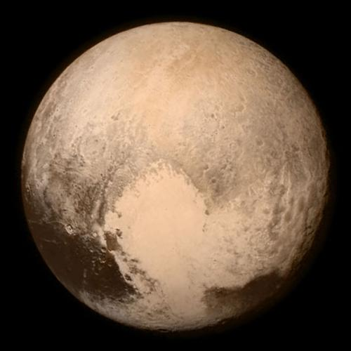 Pluto masuk dalam kategori planet kerdil.
