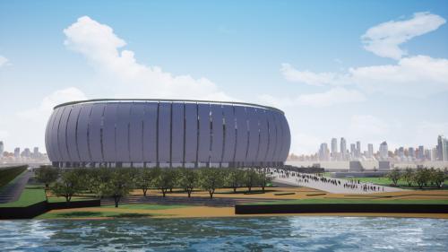 Desain Stadion BMW