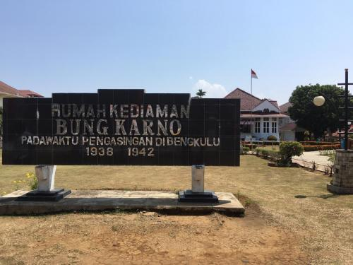 Rumah Bung Karno di Bengkulu (Foto: Okezone.com/Demon Fajri)