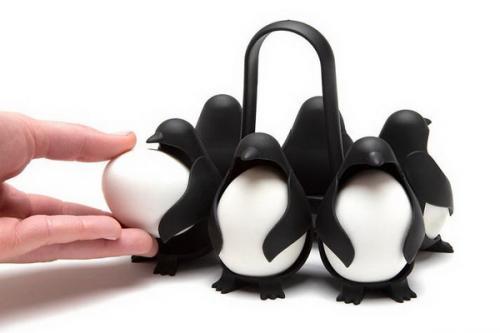Penguin lucu untuk alat masak di dapur