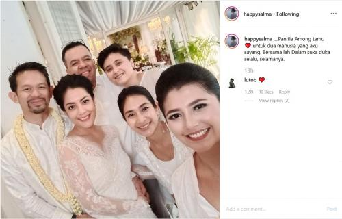 Pernikahan Lulu Tobing