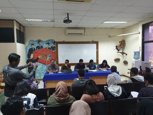 Koalisi Kawal Capim KPK jumpa pers soal Pansel Capim KPK di Kantor LBH, Jakarta Pusat, Minggu (25/8/2019). (Foto : Okezone.com/Puteranegara Batubara)